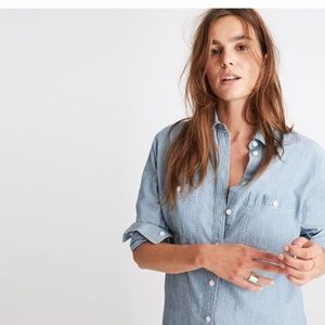 Madewell oversized Chambray shirt - XS
